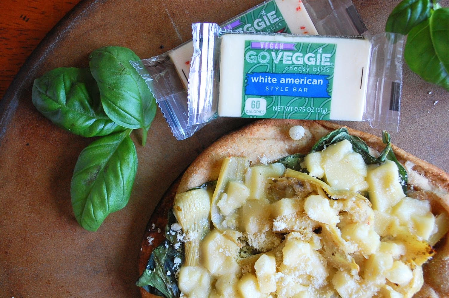 GoVeggie Vegan Pizzas 3 Ways