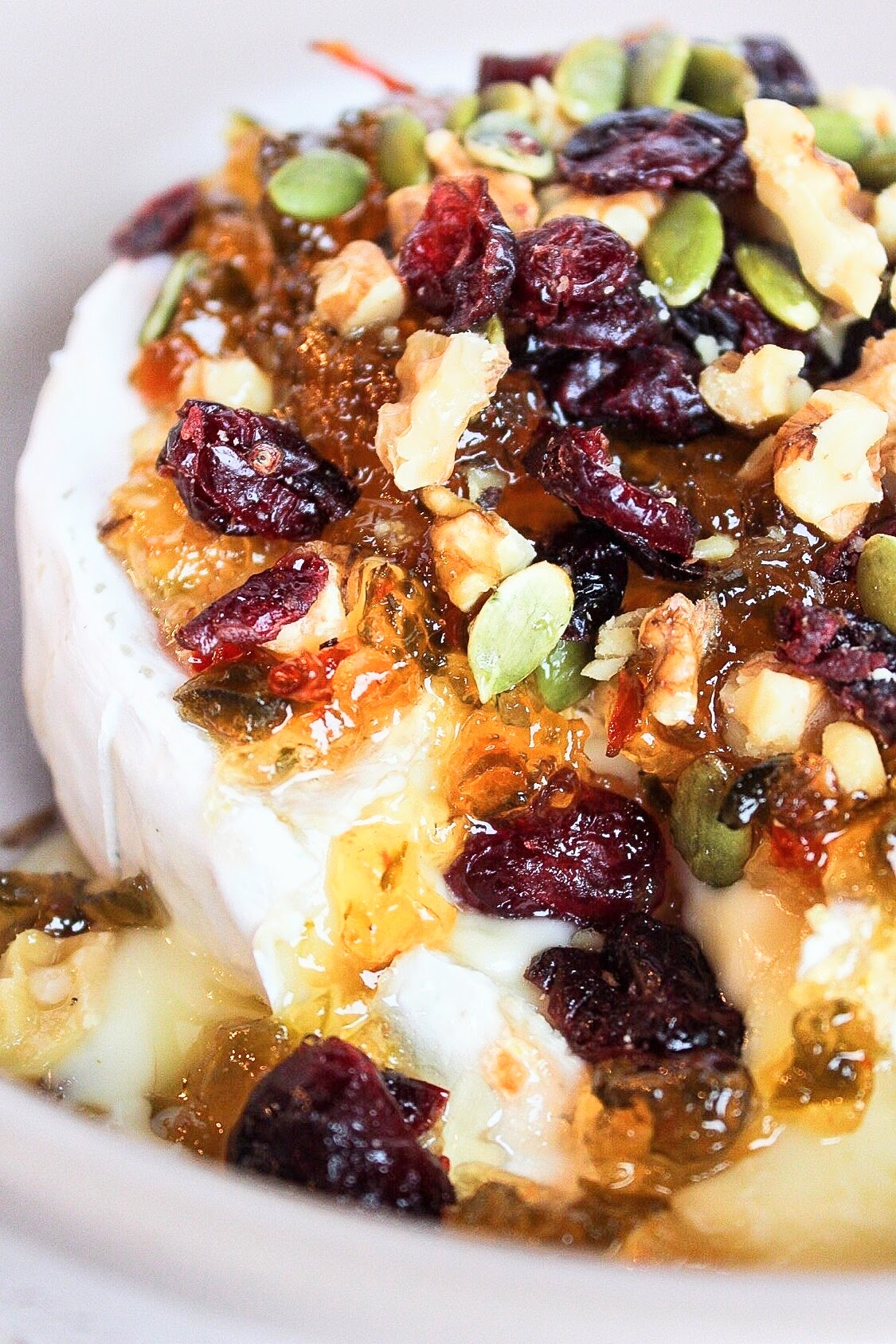 Baked Brie with Pepper Jelly