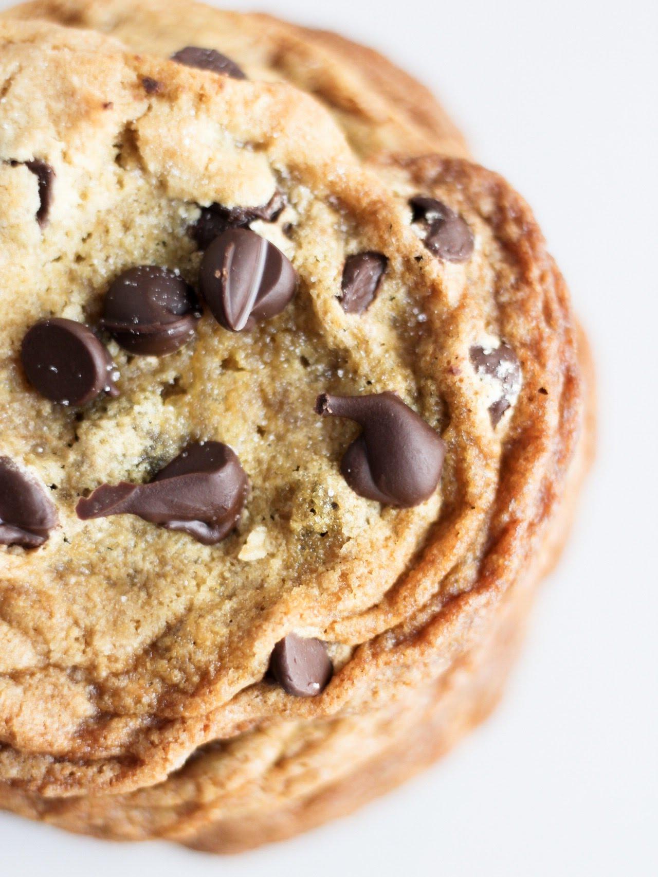 Jumbo Sea Salt Chocolate Chip Cookies